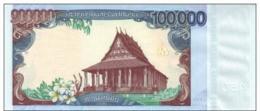 LAOS P. 40a 100000 K 2010 UNC - Laos