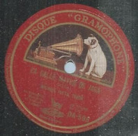 "126 ) 78 Tours 26cm  GRAMOPHONE 598  "" LA CALLE MAYOR DE JACA "" + "" SI FUERA UN AEROPLANO "" MICHELE FLETA - 78 Rpm - Gramophone Records"