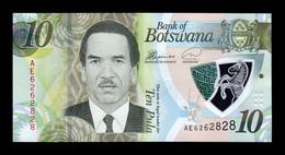 Botswana 10 Pula 2018 Pick 35 Polymer SC UNC - Botswana
