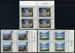Turkey 1970 Mi 2186-2188 MNH [Block Of 4] RCD | Iran-Turkey-Pakistan, Regional Cooperation For Development - Unused Stamps