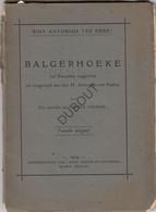 BALGERHOEKE/Eeklo Sint-Antonius - 2 De Uitgave 1909 (N963) - Antique