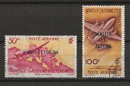 WALLIS ET FUTUNA 1949 .  Poste Aérienne N°s 12 Et 13 . Oblitérés . - Used Stamps