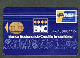 123-PORTUGAL-- MODERN COLLECTIBLE CARDS- --- PORTA MKOEDAS MULTIBANCO  BANCO NACIONAL DE CRÉDITO IMOBILIARIO - Credit Cards (Exp. Date Min. 10 Years)