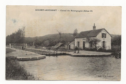 31 -  Gissey-Soussey, Canal De Bourgogne Rare - Other Municipalities