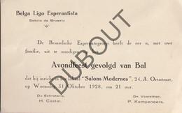 Brussel Esperanto: Bal 1928 (R163) - Other