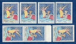 ⭐ France - Variété - YT N° 1458 - Couleurs - Pétouilles - Neuf Sans Charnière - 1965 ⭐ - Varieties: 1960-69 Mint/hinged