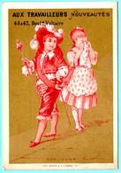 Chromo Gr.s Mag. Aux Travailleurs. Calendrier, RARE Semestre Octobre 1878 - Mars 1879. Don Juan. Imp. Baster-Vieillemard - Small : ...-1900