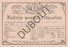 ZAVENTEM Pensionnat Des Religieuses Ursulines Bulletin Mensuel 1908 (R299) - Other