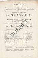 ZAVENTEM Pensionnat Des Religieuses Ursulines 03-02-1907 Sainte Cécile (R302) - Other