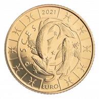 REPUBBLICA DI SAN MARINO 2021 - € 5 Segni Zodiacali PESCI - San Marino