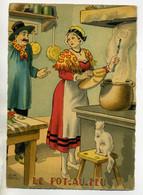JEAN PARIS 035 -Nos PLats Régionaux - Le Pot Au Feu  -chat Blanc   - BARRE DAYEZ 1946 -1418  B - Other Illustrators