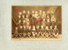 Vers 1892-CONGY (51)-3 Photos De Classe- Archives Paulin PERBAL  Instituteur à CONGY - Lieux