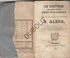 VORST Historie Van De Heilige Alena, Brussel 1829 (R596) - Antique