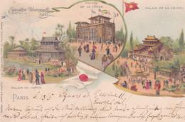 SYL Paris Exposition Universelle Palais De Perse Palais De La Chine Palais Du Japon - Expositions