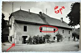 Carte Photo 14 X 9 Cm - Jura 39  - Censeau  L'Hôtel Central - Secteur Nozeroy Frasne Champagnole - Other Municipalities