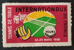 TOURS / Internationaux France De Tennis De Table / Mars 1958 - Sports