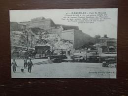 """Marseille , Fort St-nicolas """" Carte Animée """" - Autres"""