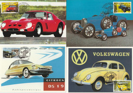 10 CARTES MAXIMUM - 2000 - AUTOMOBILES - 2000-09