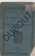 BERGEN/RONSE De Minnelijke Moeder, Gedrukt Te Ronse 1887 Zeer Zeldzaam (R594) - Antique