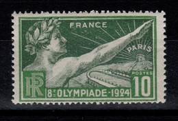 JO De Paris 1924 YV 183 N** Cote 8 Euros - Nuovi