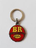 Porte Clé - Porte Clés Capsule De Bière BR Brasserie De La Rance Limonade Crystal - Key-rings