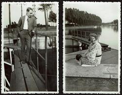 2 Photos Originales 10,5 X 6,5 Cm - 1932 - Capelle-au-Bois / Kapelle-op-den-Bos - Voir Scan - Lugares