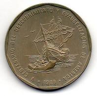 DOMINICAN REPUBLIC, 1 Peso, Copper-Nickel, Year 1989, KM #74 - Dominicaanse Republiek