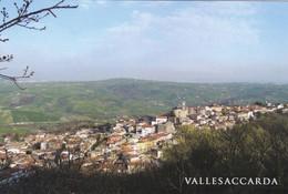 (QU280) - VALLESACCARDA (Avellino) - Panorama - Avellino