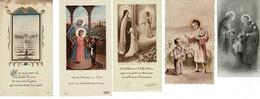 Ref: 21156 - Canivet, Image Religieuse : (5 Unités ) Communion Famille PAUMIER - Annouville Vilmesnil - Religion & Esotericism