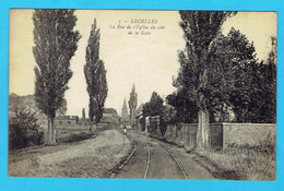 CPA LECELLES La Rue De L'Eglise Du Côté De La Gare - 59 Nord - Altri Comuni