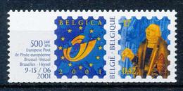 D - [204829]TB//**/Mnh-BELGIQUE 2000 - N° 2932, Belgica 2001, François De Tassis + Logo, Curiosité: Décalage De Découpag - Francobolli In Bobina