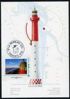 FRANCE (2021) Carte Maximum Card - 69 Assemblée PHILAPOSTEL La Tremblade Ronce-les-Bains - Phare Coubre Lighthouse Faro - 2010-...