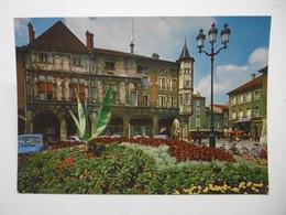 PONT A MOUSSON Place Duroc Et Maison Des 7 Péchés Capitaux - CPM 54 MEURTHE ET MOSELLE - Pont A Mousson