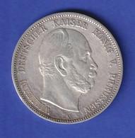 Preußen Wilhelm I, Silbermünze 5 Mark A 1874 - Non Classés