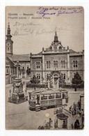 1919. KINGDOM OF SHS, SERBIA, MILITARY POST 111 TO SVILAJNAC, CENSOR, NOVI SAD, TRAM, POSTCARD, USED - Jugoslavia