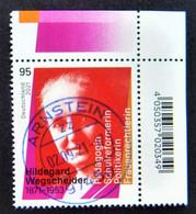 "Bund/BRD September 2021 Sondermarke ""150. Geburtstag H.. Wegscheider"" MiNr 3625, Ecke 2, Ersttagsgestempelt - Gebruikt"