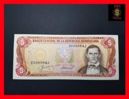 DOMINICANA 5 Pesos Oro 1987  P. 118 C   VF+ - Dominicana