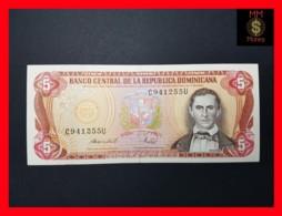 DOMINICANA 5 Pesos Oro 1988  P. 118 C  VF + - Dominicana