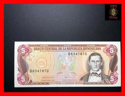 DOMINICANA 5 Pesos Oro 1990  P. 131  XF - Dominicana