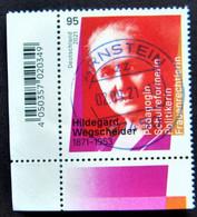 "Bund/BRD September 2021 Sondermarke ""150. Geburtstag H..Wegscheider"" MiNr 3625, Ecke 3, Ersttagsgestempelt - Gebruikt"