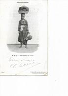GUADELOUPE - Marchande De Pêche. CPA Ayant Circulé En 1903. - Non Classificati