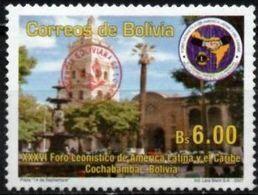 Bolivia 2018 ** CEFIBOL 2319 (2007 #1921) Foro Leonístico De América Latina.habilitada Agencia Boliviana De Correos - Bolivia