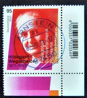 "Bund/BRD September 2021 Sondermarke ""150. Geburtstag H.Wegscheider"" MiNr 3625, Ecke 4, Ersttagsgestempelt - Gebruikt"