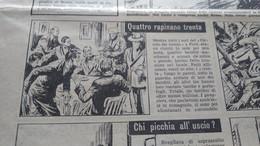 DOMENICA DEL CORRIERE 1952 FORLI' LECCE URANIO IN SARDEGNA SANTA CHIARA DEL TIRSO OZIERI ARTICOLO DI ALDO FABRIZI - Sin Clasificación