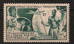 AEF - 1949 - Poste Aérienne PA N°Yv. 54 - UPU - Neuf Luxe ** / MNH / Postfrisch - Ungebraucht