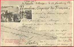 Doc. Historique Sur CP - Décret Écrit Et Signé Par Napoléon ...... (+ Détail Du Descriptif) - History