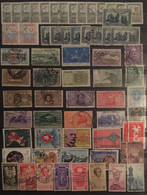 ITALY :  SELECTION OF STAMPS On 1  Page  LOT 9 - Verzamelingen