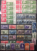 ITALY :  SELECTION OF STAMPS On 1  Page  LOT 10 - Verzamelingen
