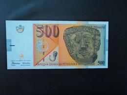 MACÉDOINE * : 500 DENARI    8.9.1996     P 17a           NEUF ** - Macedonia
