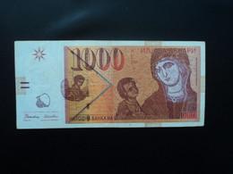 MACÉDOINE * : 1000 DENARI    8.9.1996     P 18a           TTB ** - Macedonia